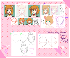 Tutorial - Face Shape! [Hyan, Pemiin, Vi] by SmexyViButt