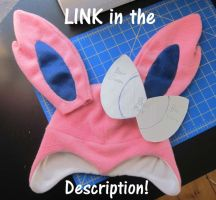 Sylveon Costume Part 1 by PokemonMasta