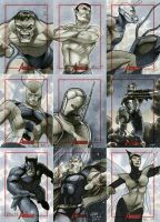 Marvel: 2012 Greatest Heroes Sketch Cards 04 by RichardCox