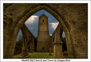 Muthill Old Church and Tower by SnapperRod