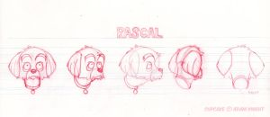 Rascal - Head Turnaround by TheArtofAdamKnight