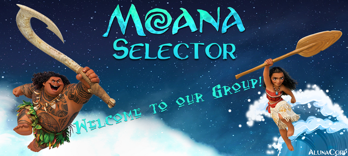 Moana-Selector Preview by ALunaCorp
