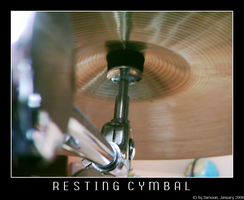 Resting Cymbal by Darkaan