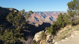 Hiking into Grand Canyon  by RobMitchem