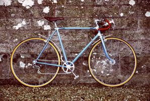 Vintage bike by grutensaie