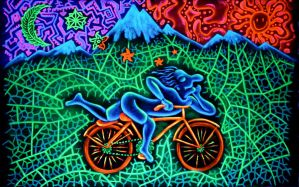 Bicycle Day by Anastasia-Artist