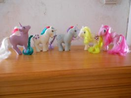 my little pony collection: unicorn and pegasi 2 by theladyinred002