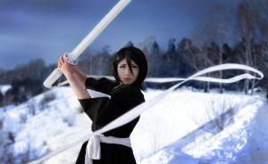 Kuchiki Rukia cosplay by AliceBlacfox