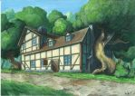 A Tavern in the Wild by LordDoomhammer
