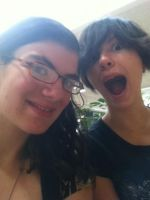 Me and Davidson @ the mall by Carolynzy6125andBSP