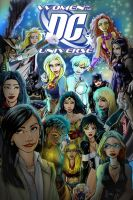 The DC Universe Women V3.0 by tannerwiley