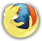 Fennekin Firefox Logo (With Icon) by S-Vortex
