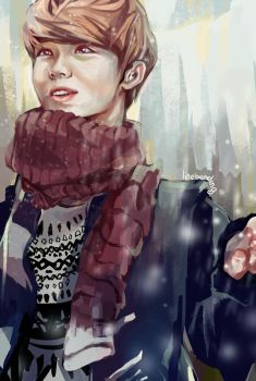 EXO:: Miracles in December- Luhan by renkarts