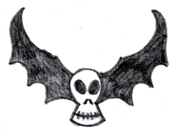Bat Skull by jess13795