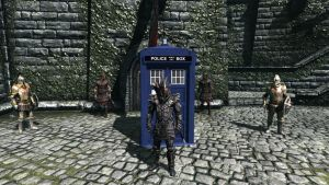 Adventures in Time and Skyrim by Conn1321