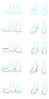 Tutorial: Shoes by Amela-xD