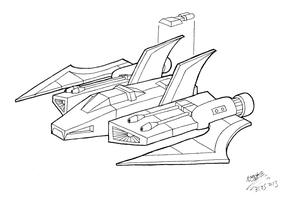 Predacon starfighter by Lemniskate