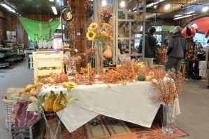 October 2014, Local Farm Stand Autumn Display 3 by Miss-Tbones