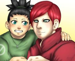 Uncle Gaara is cool by Lilicia-Onechan