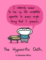 The Hypocritic Oath by sebreg