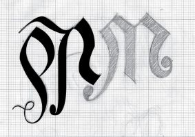 Sam's ambigram 2 by Weegraphicsman