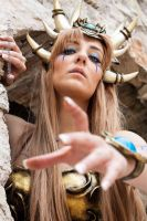 Bronze Dragon Queen_ Vials of Eternity by CalipsoCosplay