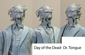 Day of the Dead- Dr. Tongue 4 by BLACKPLAGUE1348