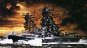Japanese Super Battleships by LyokoWarrior4ever