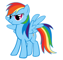 Rainbow Dash - Vector by EpicGaara