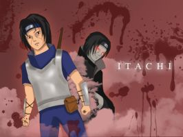 Itachi : Victim of war by opalcious