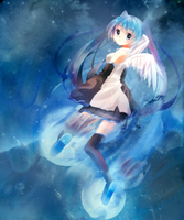 Miku in the... Strange Space by Ayu-taan