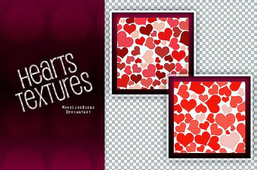 +Hearts Textures [Free Download] by MoveLikeBiebs