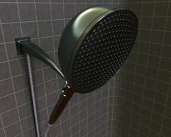 Shower Head 3D by Mackingster