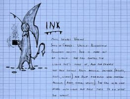 New Character : Ink by Toothless6reach