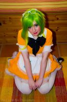 Gumi: Sittin' Pretty by cheese-cake-panda