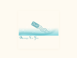 . message for you . by I-magine