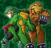 Battletoads by SootToon