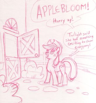 Applejack's Quest! page 01 by Saphin
