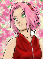 Sakura The Flower by doll-fin-chick