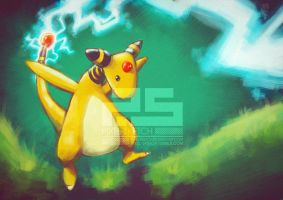 Pokemon: Ampharos
