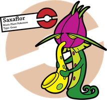 Fake Pokemon: Saxaflor by Sageroot