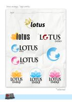 Lotus Energy Logo Works by Alpipi