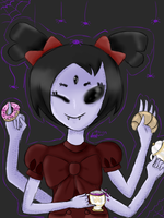 Muffet by SakuraCerry