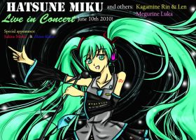 Contest: Miku in Live concert by pyeong