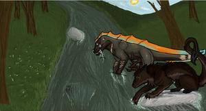 iScribble Collab #5 by Silvadruid