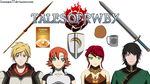 Tales of RWBY - Portraits and Props 2 by IceNinjaX77