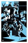Gotham Girls Print by calslayton