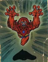 BEAST MAN by ChrisFaccone