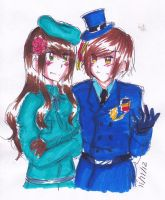 [APH] Hungary and Romania by THE-L0LLIP0P