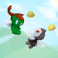 Chao love by Castle-com